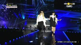 Repeat youtube video 2014 02 12 가온차트어워드 2NE1