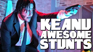 Action Man KEANU REEVES doesn't need a stunt double
