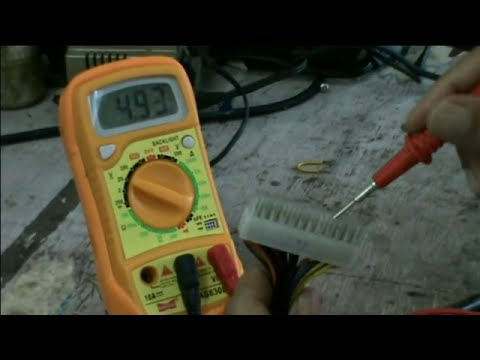 How toTest PC SMPS ;SMPS Repair part -1(ENG) - YouTube