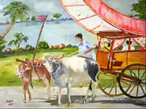 """""""KERETA LEMBU"""" (The Bullock Cart) by HELEN VELU - Instr.Guitar Solo By WARDI AHMAD"""