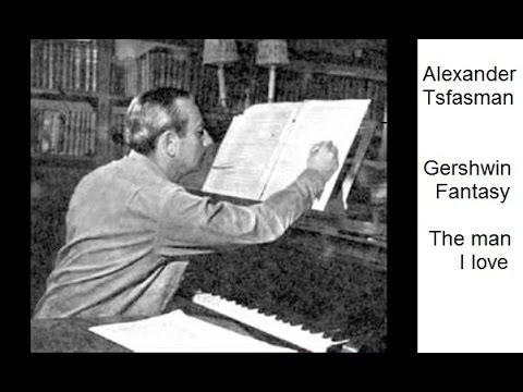 "Alexander Tsfasman:Gershwin Fantasy ""The Man I Love"" - 2 Pianos"