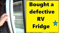 RV Fridge from Craigslist