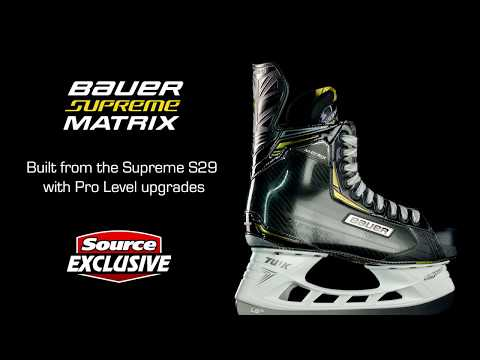 Source Exclusive Bauer Supreme Matrix Skates Only At Source For Sports