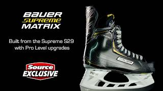 Source Exclusive: Bauer Supreme Matrix Hockey Skates (2018) | Source For Sports