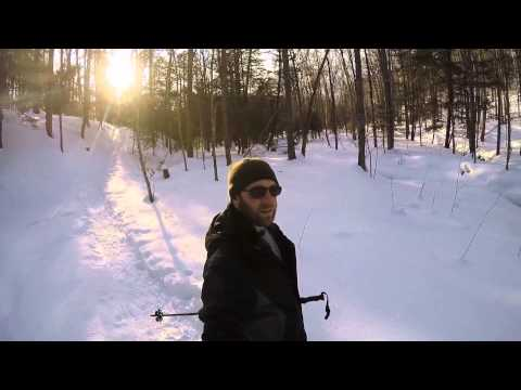 Rich Lauber - Five of the Best Hiking Trails in CNY- Waterfalls, Snowshoeing