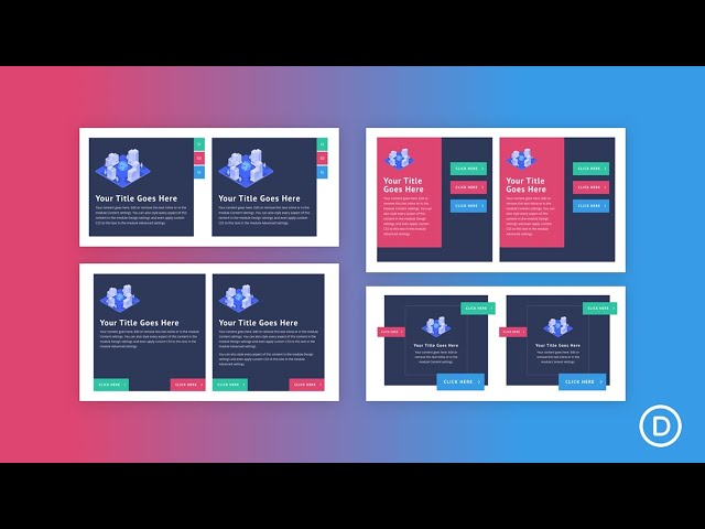 How to Position Buttons Absolutely to Create Unique Button Layouts in Divi