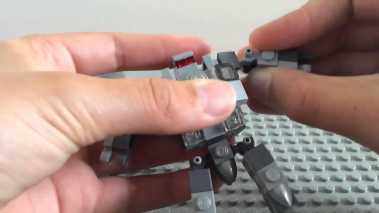 Hoe maak je eenvoudig een nieuwe lego robot te maken materiaal mech aspect 2 youtube - Hoe maak je een woonkamer ...
