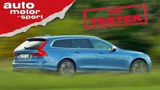 Volvo V90 D4: Der Ikea-Einkauf-Bezwinger - Die Tester | auto motor und sport