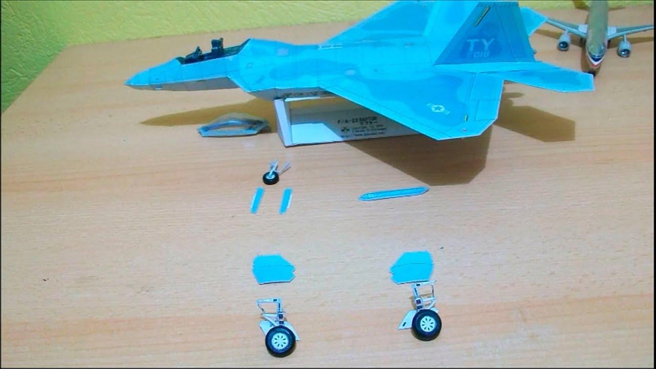 Papercraft F 22 Raptor Papercraft