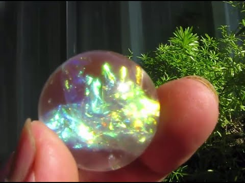 Magic sphere DIY  in crystal resin