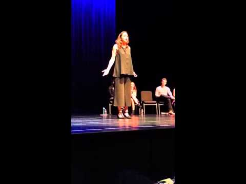 Georgia performs for Patti LuPone