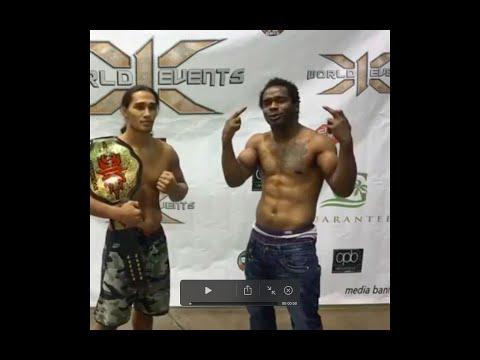 Ray Cooper III vs Charles Benett HIGHLIGHTS : Hawaii MMA