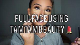 FULL Face using TamTamBeauty ✨ | Jasminazizam