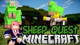 SHEEP QUEST | Minecraft Mini-game with Smallishbeans