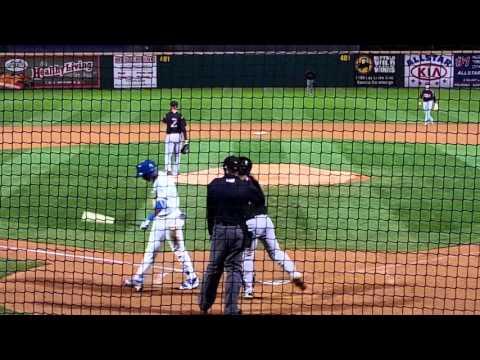 Yusniel Diaz 6 PA's vs. Lake Elsinore (4/7 - 4/9/16)
