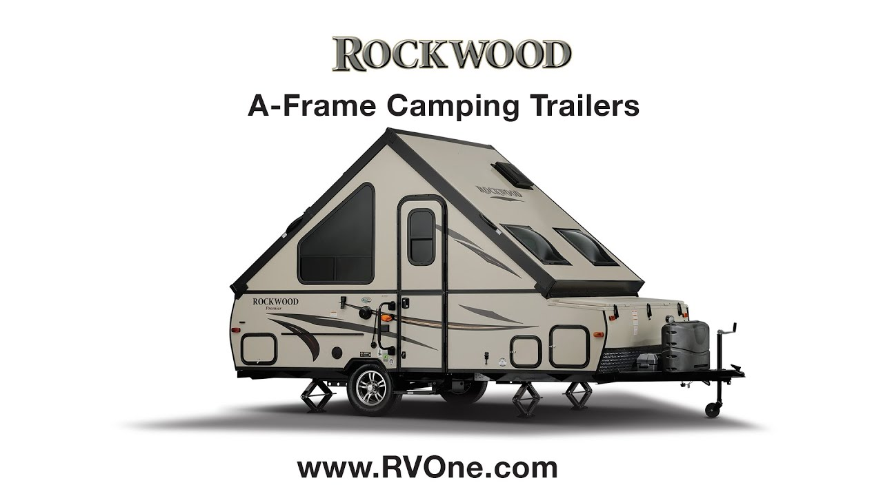 Rockwood A-Frame Camping Trailers - YouTube