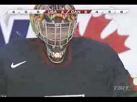 2007 IIHF U20 Canada Vs USA Shootout
