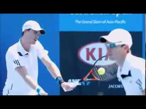 Australian Open Tennis 2014 - Stopped By Extreme Heat