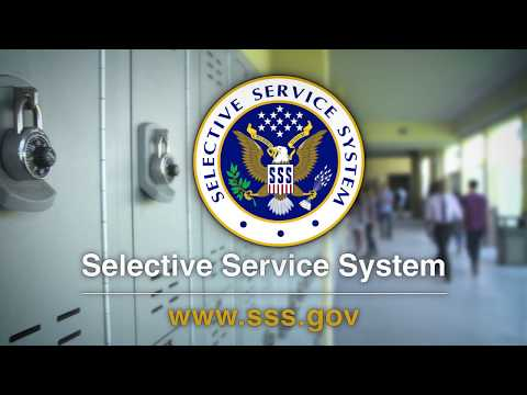 Register With Selective Service Today!