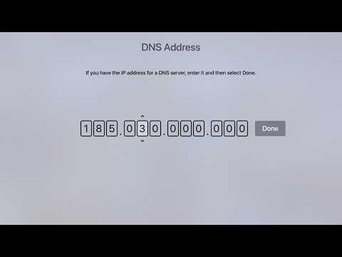 How To Configure Apple TV 4 To Use Unlocator SmartDNS