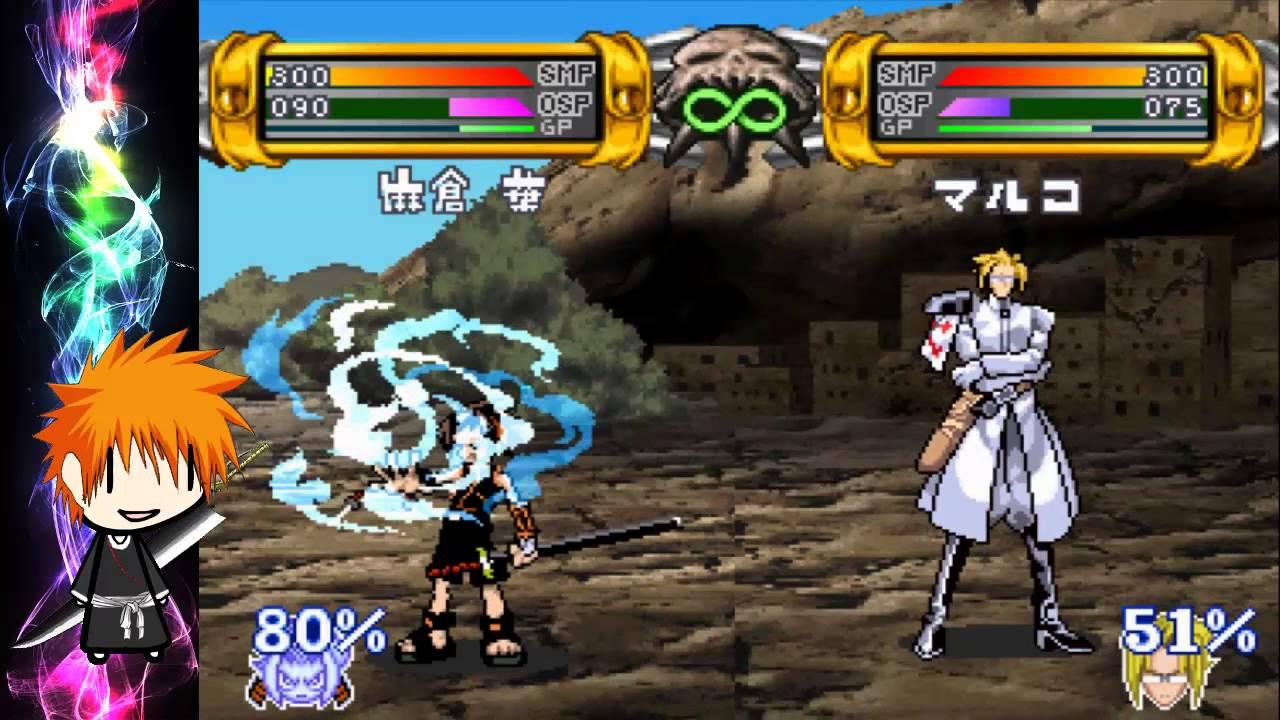Game boy advance shaman king: master of spirits main.