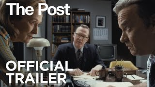 The Post | Official Trailer [HD] | 20th Century FOX thumbnail