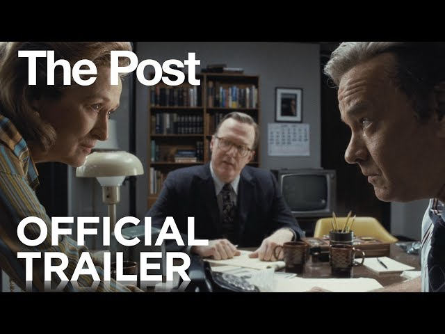 Streep, Spielberg y Hanks en el primer adelanto de The Post