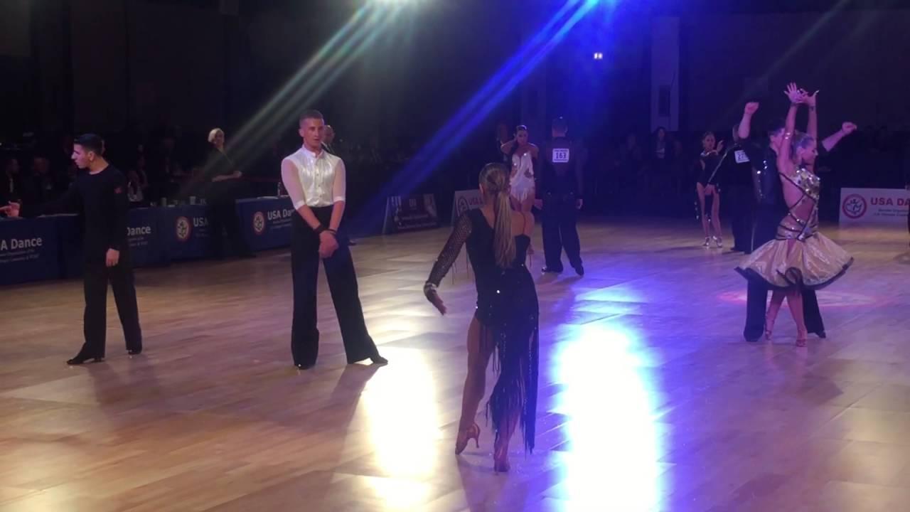 2016 USA DANCE WDSF ADULT AMATEUR OPEN LATIN Lance Yasinsky and ...
