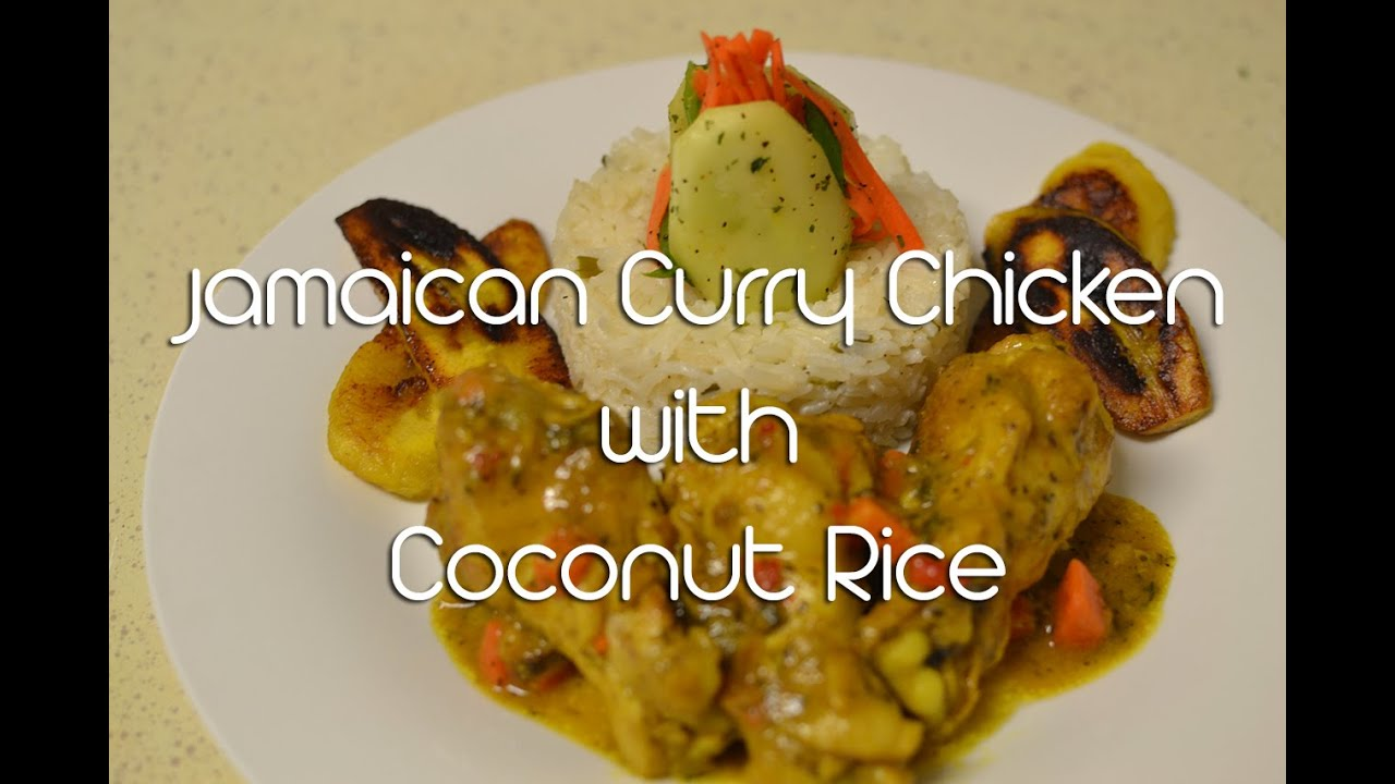 How to make jamaican curry chicken with coconut rice youtube forumfinder Image collections