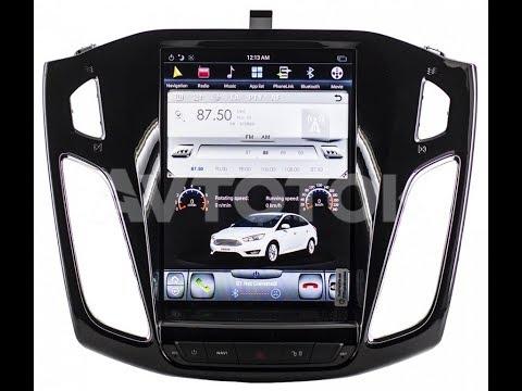 Штатная магнитола Ford Focus 3 Tesla Style 2012 Android 6.0