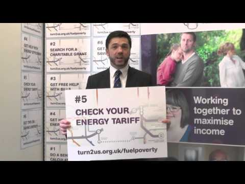 Stephen Crabb, MP supports Turn2us Fuel Poverty campaign