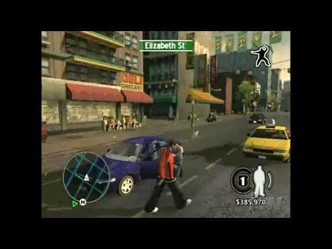 True Crime New York City Playstation 2 Trailer Gameplay
