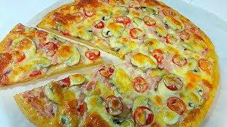 Такой Вкусной Пиццы Еще Не Пробовала / Вкуснейшая Домашняя Пицца в Духовке за 20 минут