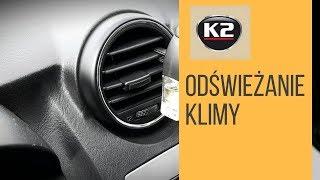 Jak odświeżyć klimatyzację, pozbyć się zapachu z klimatyzacji - K2 Klima Fresh