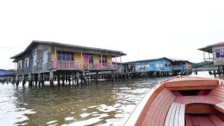 BRUNEI Travel: Kampong Ayer, The World's Largest Water Village