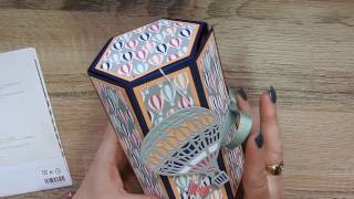 Stamping T!   Hexagon Box Tower