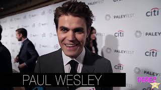 Nina Dobrev Shares Her Prank On Paul Wesley For His Directorial Debut! | Perez Hilton thumbnail