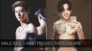 Male Idols Who Proved Tattoos Are Hot