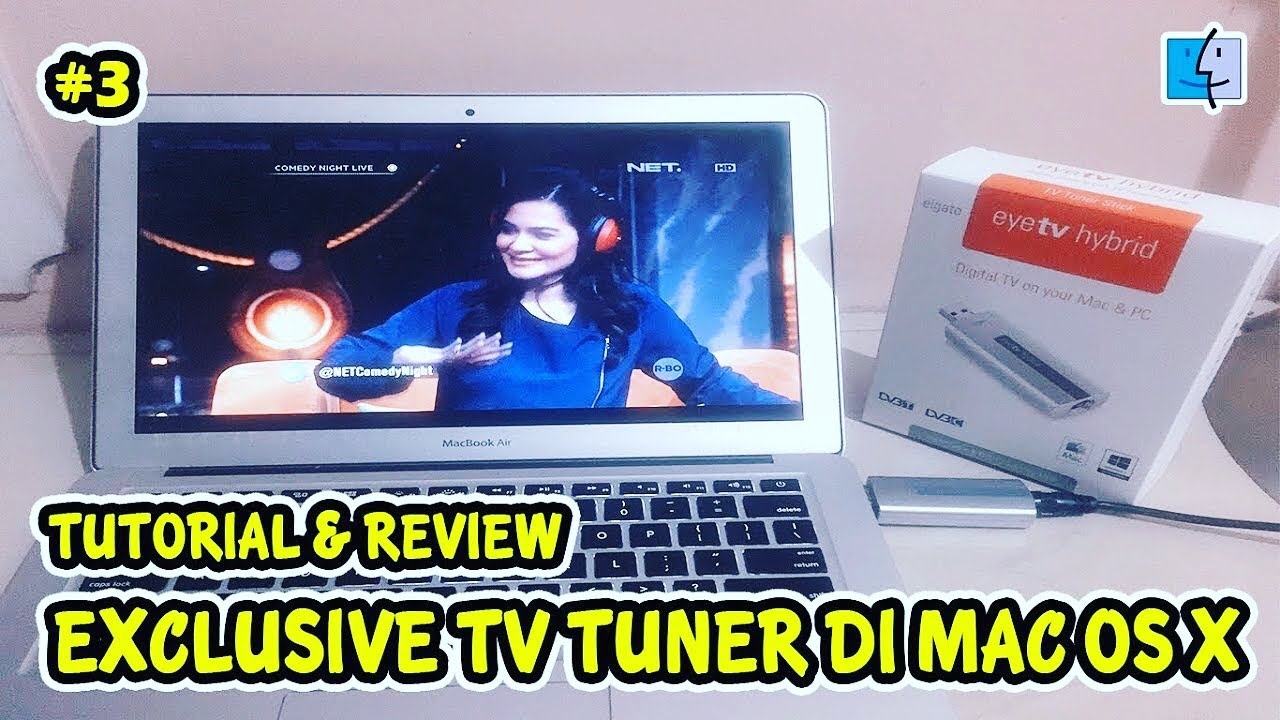 Instal Elgato EyeTV Hybrid Tv Tuner Stick di Mac OS X [TUTORIAL]