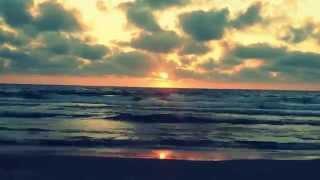 Sunset at Palmachim Beach
