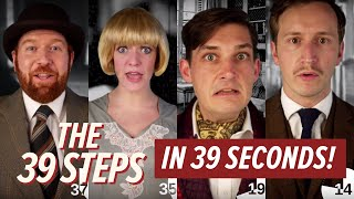 The 39 Steps in 39 Seconds | #Barn39Steps