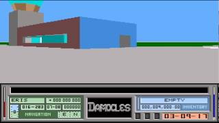 ATARI ST DAMOCLES MERCENARY II 2 THE GAME IS ALREADY RELEASED IN YOUTUBE) HELP!!! NEEDS LONGPLAY