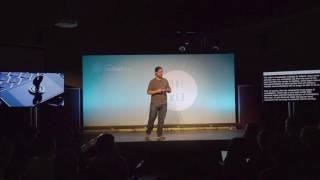 Christopher Soghoian talking at Mozfest 2016 in London