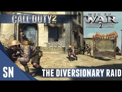 Diversionary Raid - Men of War Assault Squad 2: COD 2 #1 [MOD] (Brits) |