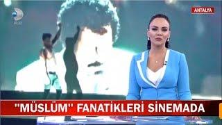 MÜSLÜM FANATİKLERİ SİNEMADA ( KANAL D HABERLERE ÇIKTIK  )