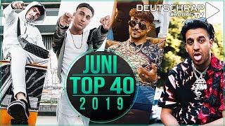 TOP 40 Deutschrap MONATSCHARTS JUNI 2019