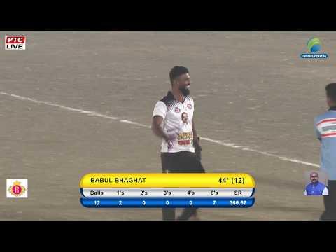 BABUL BHAGAT 5 BALL 5 SIXES    AAMDAR CHASHAK 2018 LIVE KAMOTHE