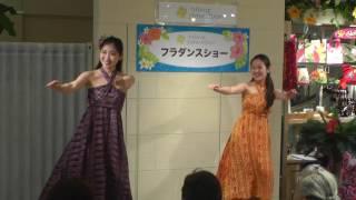 フラダンスショー in京都マルイ 1