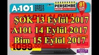 Şok Market 13 Eylül 2017, A101 14 Eylül 2017, Bim 15 Eylül 2017 Aktüel ürünler