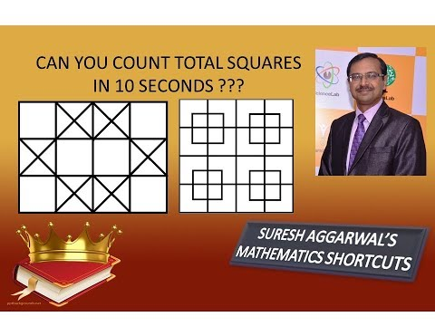 Trick 415 - Tell Number of Squares in 3 Seconds - Part 13